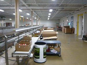 Food Bank Interior