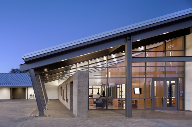 TLCD Architecture, Mendocino College Lake Center, IIDA Northern California Honor Award