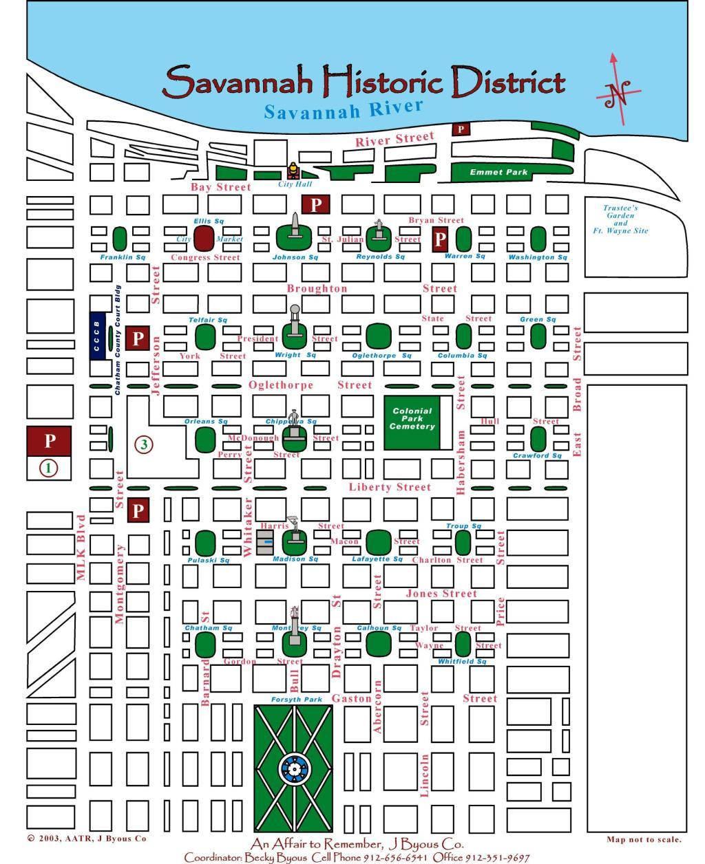 Savannah, Georgia, State Capital, Don Tomasi, Oglethorpe Plan