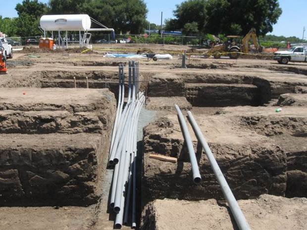 american agcredit, tlcd architecture, construction update, underground electrical conduit