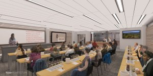 wine business institute, sonoma state university, tlcd architecture rendering