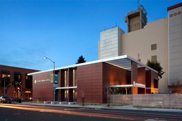 tlcd architecture, AIA Redwood Empire Design Awards, Merit Award, Luther Burbank Savings Branch Headquarters