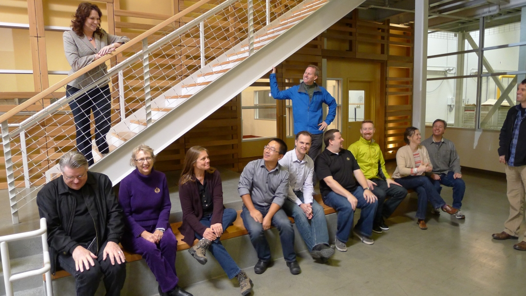 AIA Redwood Empire, Board Retreat, Carl Servais 2015 President, Redwood Empire Food Bank, Volunteer Day, Carrots, TLCD Architecture
