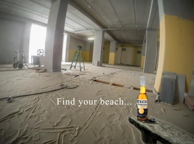 Beach found
