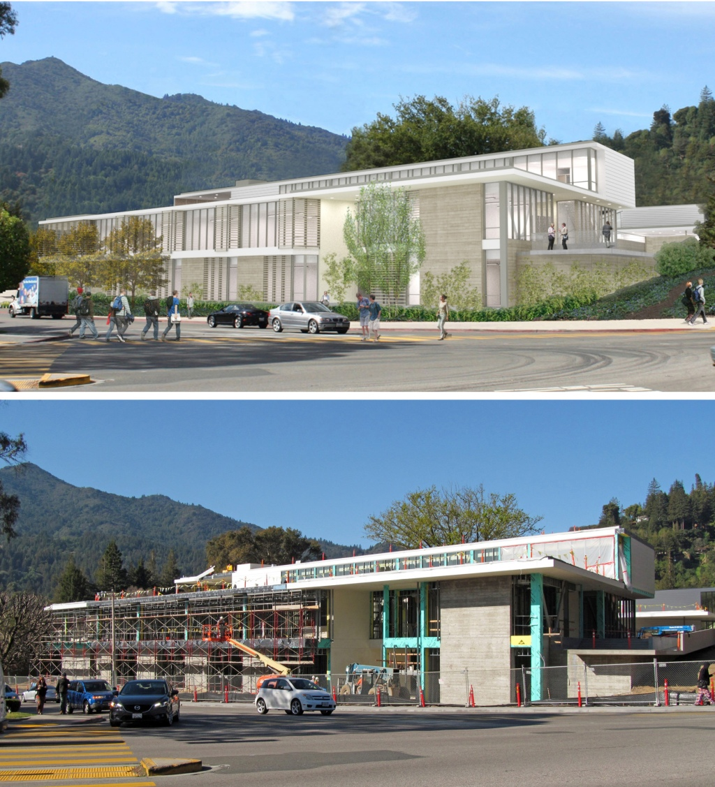 college of marin, new academic center, tlcd architecture, mark cavagnero associates, new construction