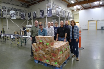 redwood empire food bank, tlcd architecture, volunteering, food donation, sonoma county