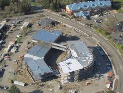 tlcd architecture, american agcredit headquarters building, sonoma county airport, architecture, design