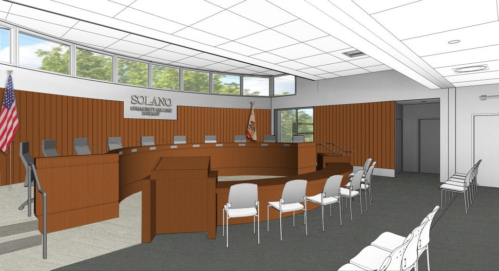 Solano College Board Room