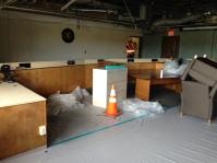 board room, damage, earthquake, napa, tlcd architecture