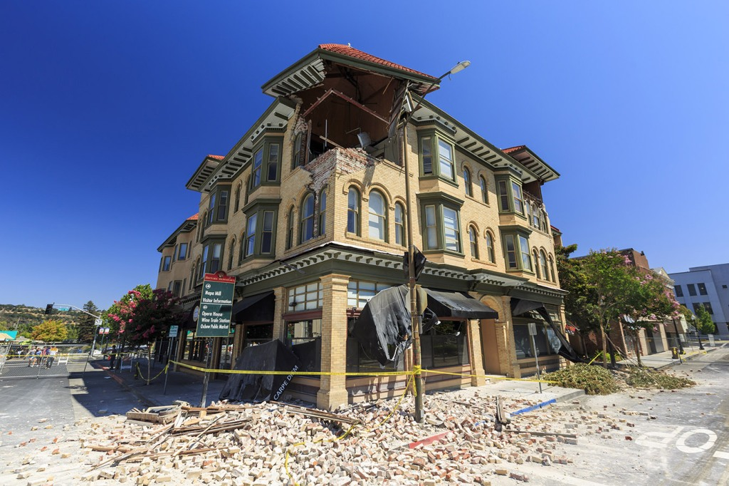 napa earthquake 2014, county of napa, tlcd architecture, rebuilding, county services, architecture, engineering, construction