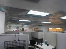 water damage, administration building, napa, tlcd architecture