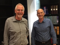 alan butler, don tomasi, partners, tlcd architecture, celebrating 30th work anniversary