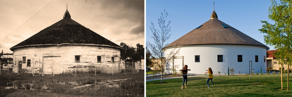 DeTurk Round Barn, City of Santa Rosa, TLCD Architecture, Adaptive Reuse, Historic Round Barn