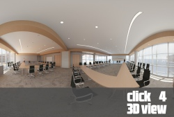 View the conference room at the American AgCredit headquarters designed by TLCD Architecture