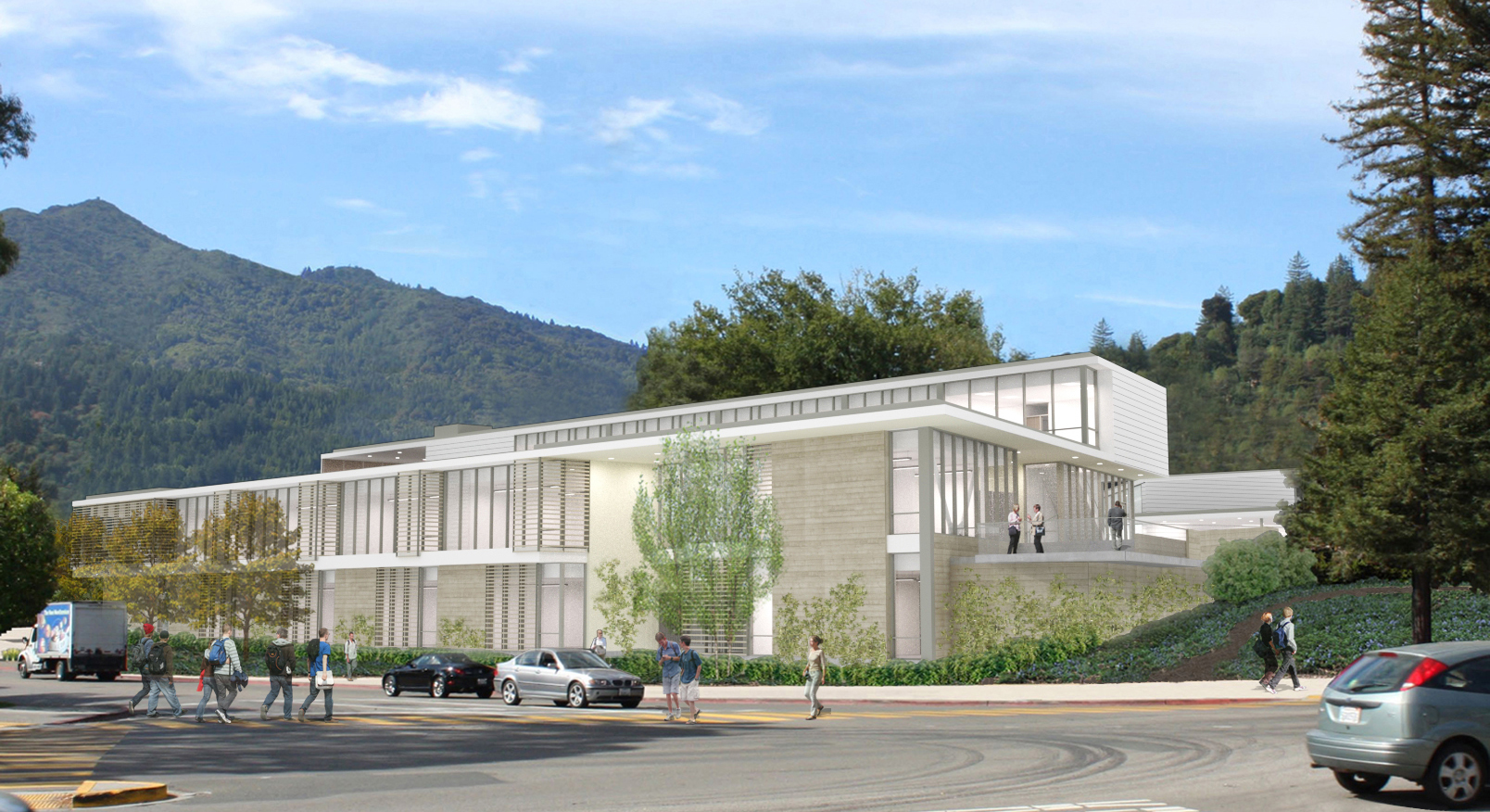 New Academic Center At College Of Marin