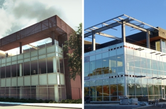 American AgCredit Headquarters, TLCD Architecture, Zinc Cladding, Santa Rosa Construction Project