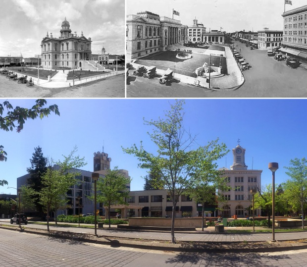 Santa Rosa Courthouse Square, Downtown Revitalization, City Center