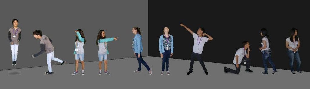 green screen, avatars, mike hauser academy, santa rosa chamber of commerce, tlcd architecture, 3d model, STEM, science, technology, engineering, math