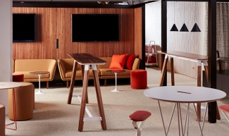 neocon, Knoll Rockwell, TLCD Architecture, resimercial, furniture trends, workplace design