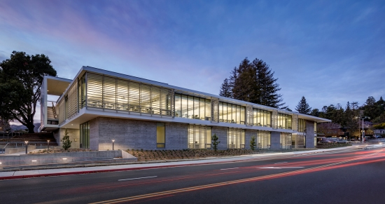 Academic Center, College of Marin, TLCD Architecture, Mark Cavagnero Associates